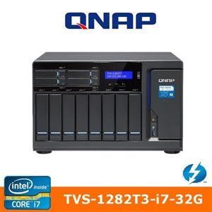 QNAP 威聯通 TVS-1282T3-i7-32G 12Bay網路儲存伺服器
