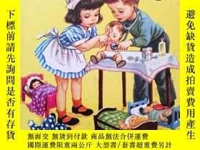 二手書博民逛書店英文原版罕見繪本 Nurse Nancy 1952年版本 懷舊童書Y264645 Kathryn Jackso