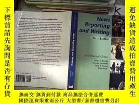 二手書博民逛書店NEWS罕見REPORTING AND WRITING 新聞報道與寫作Y203004