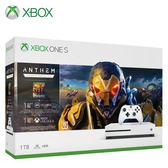 【Microsoft 微軟】Xbox One S 1TB《冒險聖歌 Anthem》同捆組