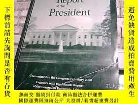 二手書博民逛書店Economic罕見Report of the Presiden