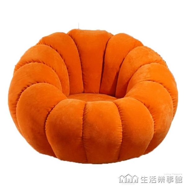 懶人沙發榻榻米單人陽台休閒椅沙發椅子小女生可愛臥室網紅款 NMS生活樂事館
