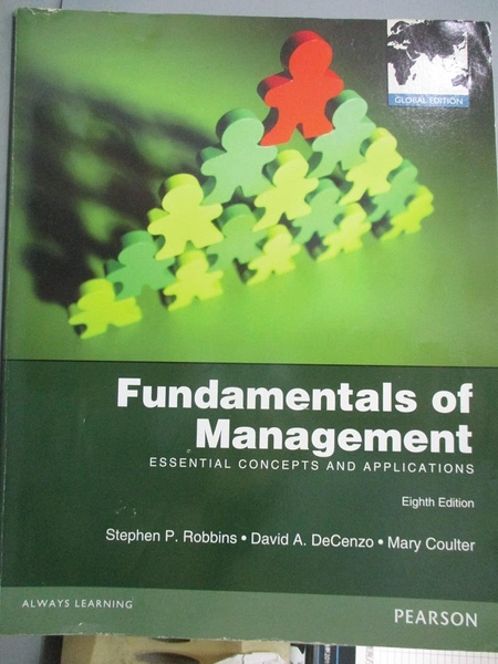 【書寶二手書T3/大學商學_YHJ】Fundamentals of Management_Robbins, DeCenz