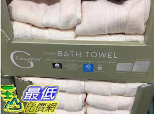 [COSCO代購] C1597000 GRANDEUR BATH TOWEL IVORY  印度低撚純棉浴巾象牙色尺寸: 76X 147公分