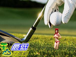 [107美國直購] 高爾夫球球座 球托 球釘 Perky Tees Pin-up Girl Golf Tee, Pack of 6