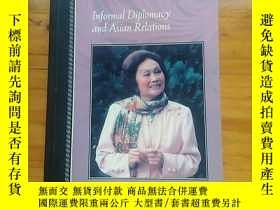 二手書博民逛書店ANNA罕見CHENNAULT: Informal Diplomacy and Asian Relations《陳
