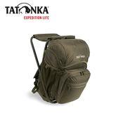 【TATONKA Fischerstuhl 多功能折椅背包20L 《橄欖綠》】TTK2295-331/椅凳/ 釣魚/登山