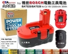 【久大電池】 博世 BOSCH 電動工具電池 2 607 335 266 BAT026 18V 2000mAh 36Wh