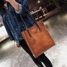 大包包2020皮包新款女包歐美復古簡約公文包時尚手提包側背包潮包 韓國時尚週