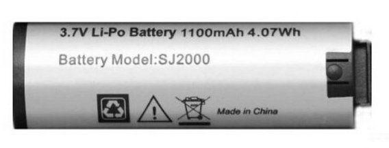 〔3699shop〕原廠SJCAM SJ2000 電池原廠電池行車紀錄器 1100毫安