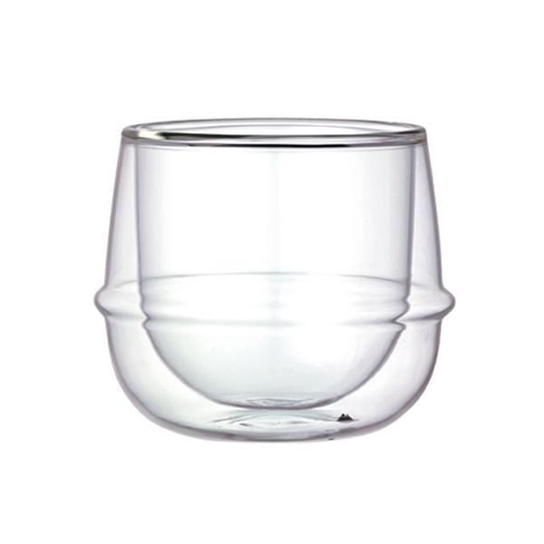 日本KINTO KRONOS 雙層玻璃酒杯 250ml