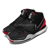 Nike 籃球鞋 Kyrie 6 EP Bred 黑 紅 Irving 6代 男鞋 全視之眼 【ACS】 BQ4631-002