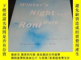 二手書博民逛書店2手英文罕見Roni Horn: If on a Winter