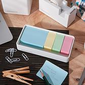 【第2件0元】Simple White附便籤收納盒-生活工場