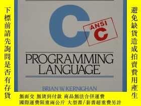 二手書博民逛書店The罕見C Programming Language, Second Edition (Internationa