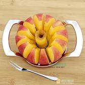 不銹鋼切蘋果神器工具 分割削水果切片器 切水果分切器去核器加厚