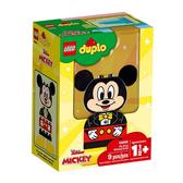 【LEGO 樂高 積木】LT-10898 得寶 Duplo 我的第一套米奇拼圖 My First Mickey Build (9pcs)