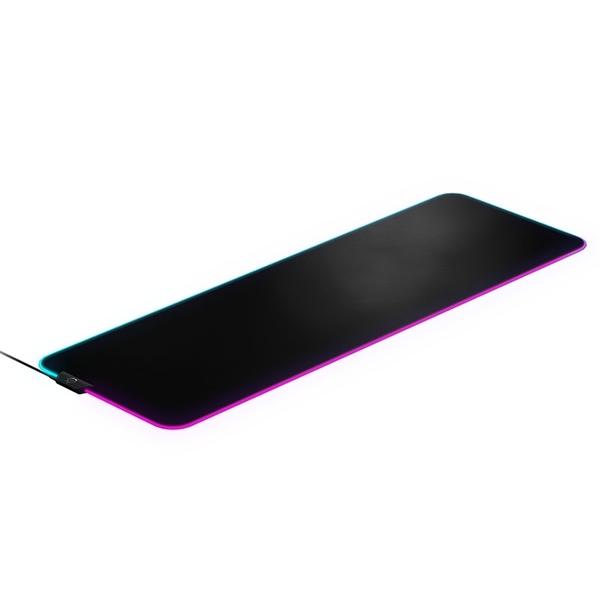 【SteelSeries 賽睿】QcK Prism 電競鼠墊 (XL)