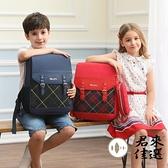 兒童小學生書包男女童英倫風護脊書包一六年級後背包雙肩包【君來佳選】
