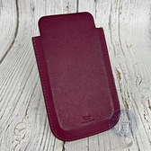 BRAND楓月 HERMES 愛馬仕 O刻 酒紅手機套 配件 手機保護套 可裝進寬5.5公分之物 iphone4/4S