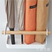 鐵藝家用雨傘架收納簡約創意磁鐵吸鐵壁掛站立傘架免釘門背冰箱貼 KV1205 『小美日記』
