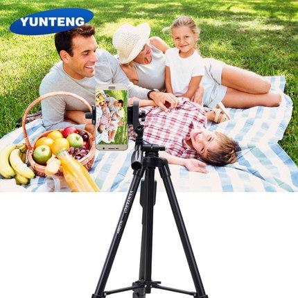 VCT-5208 輕鋁合金相機三腳架 自拍必備 相機三角架 攝影腳架 手機支架 送收納袋送遙控器