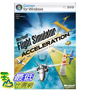 [美國代購] Microsoft Flight Simulator X Acceleration Expansion - PC
