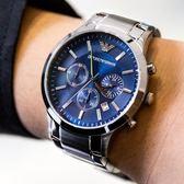 EMPORIO ARMANI 亞曼尼 AR2448 型男魅力時尚精品錶 熱賣中!
