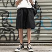 夏季薄款休閒五分褲子男牌流短褲男士寬鬆直筒運動褲