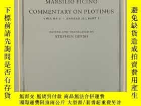 二手書博民逛書店Commentary罕見on Plotinus, Volume