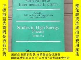 二手書博民逛書店electron罕見and pion interactions with nuclei at intermedia