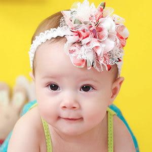 髮帶 氣質紡紗花蕾絲髮帶 兒童髮飾 髮飾 飾品 日月星媽咪寶貝館