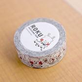 ROKU易撕紙膠帶(白) 現貨 ㊣ 日本設計進口商品正版授權