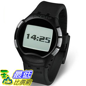 [美國直購] Swatch Unisex SUHB100 Black Paparazzi Smart Watch 手錶