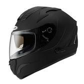 【ZEUS 瑞獅 ZS 806F 素色 消光黑 全罩 安全帽 】雙層鏡片、免運費