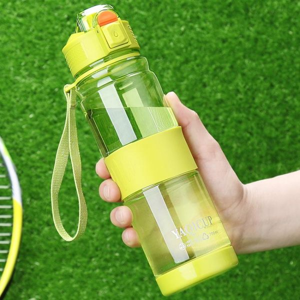 隨行杯 亞奇水杯塑料便攜杯子隨手杯男女創意潮流學生運動太空杯兒童水壺