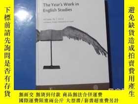 二手書博民逛書店The罕見Year`s Work in English Stud