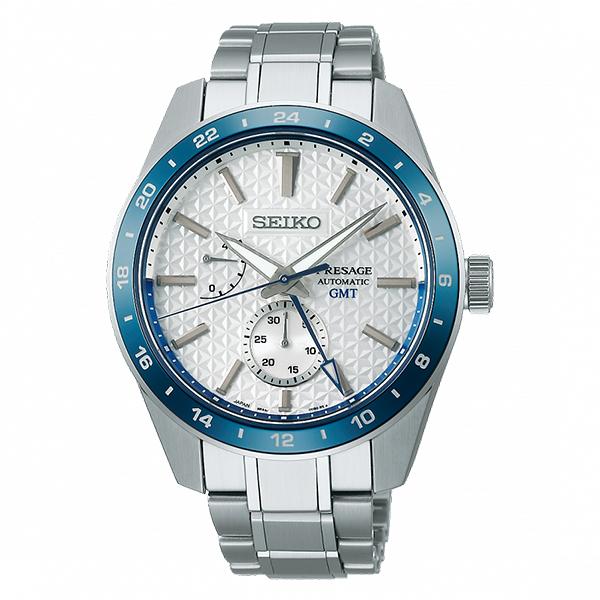 SEIKO精工 140週年限定 Sharp Edged Series 新銳系列動力顯示機械錶 6R64-00D0S (SPB223J1) 白面