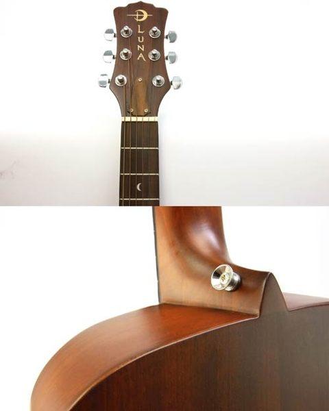 【敦煌樂器】LUNA SAFARI系列 Dolphin 海豚造型旅行民謠木吉他