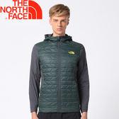 【The North Face 男款  ThermoBall 運動夾克《深綠》】365GHCD/化纖外套/保暖外套/外套★滿額送