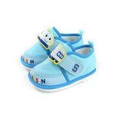 新幹線 SHINKANSEN 休閒布鞋 嗶嗶鞋 淺藍色 小童 童鞋 719825 no798