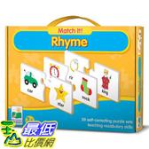 [美國直購] 2016美國暢銷兒童書 Rhyme The Learning Journey Match It!