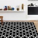 范登伯格 圓舞曲 亮黑星空絲質地毯-140x190cm