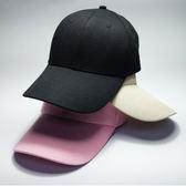 【現貨供應】四季款黑色 棒球帽 韓版潮流 鴨舌帽女 休閒 百搭 純色太陽帽 運動帽【極品e世代】
