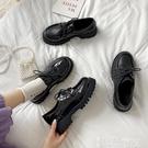 皮鞋 英倫風小皮鞋女軟皮日系jk鞋黑色厚底學生韓版百搭2021年新款單鞋 【99免運】