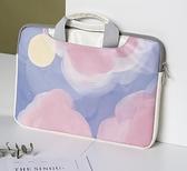 筆電包 聯想款好看的電腦包女手提華為榮耀14筆記本手提包【快速出貨八折搶購】