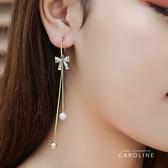 《Caroline》絢麗閃亮動人 典雅設計流行時尚耳環72041