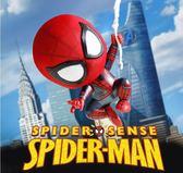 漫威鋼鐵蜘蛛俠玩具搖頭公仔英雄歸來手辦模型復仇者聯盟周邊擺件 潮流前線