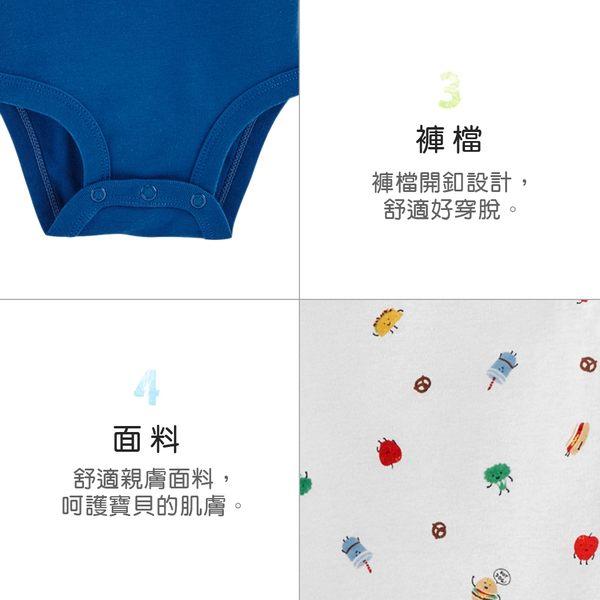 【美國 carter s】 美式食物5件組包屁衣-台灣總代理