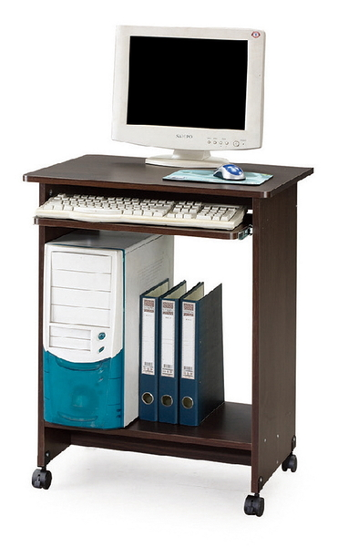 【IS空間美學】YPO21E-E胡桃電腦桌
